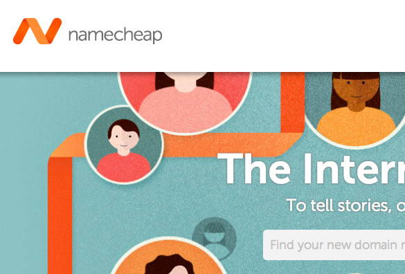 namecheap dominio virtual