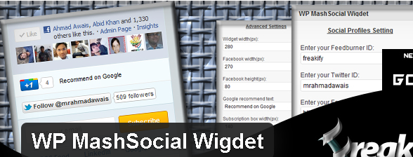 Plugin-wordpress-MashSocial-Wigdet