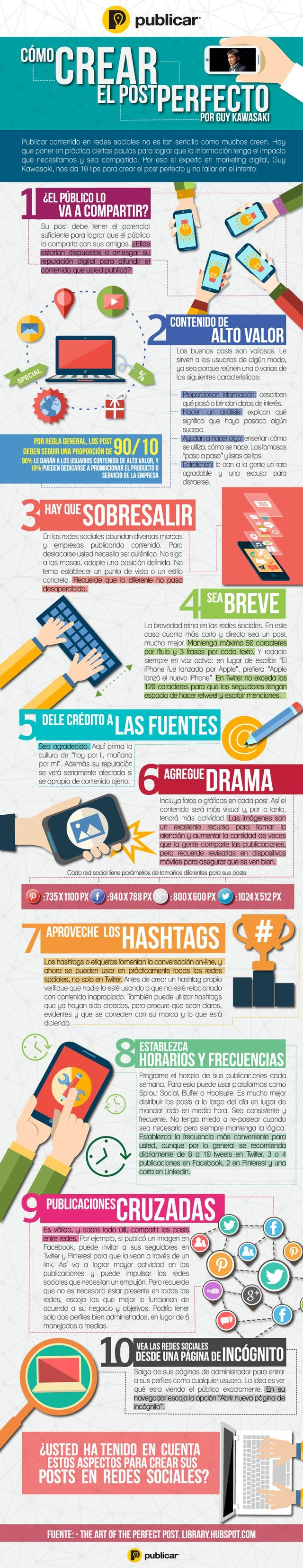 crear el post perfecto